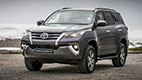 Exterior picture of Vehicle Type 1030: Private Taxi: Toyota Fortuner 7 seater or similar sized vehicle