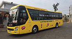 Exterior picture of Bus Type 11: Operated by Quoc Phu, with air-conditioned 35 berth sleeper buses.